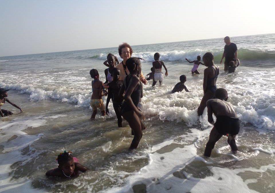 Journée à la plage tous ensemble