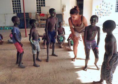 hotesses de l'air au cocon de cabrousse avec les enfants