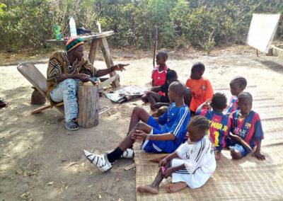 mamady cours de sculpture les enfants du cocon